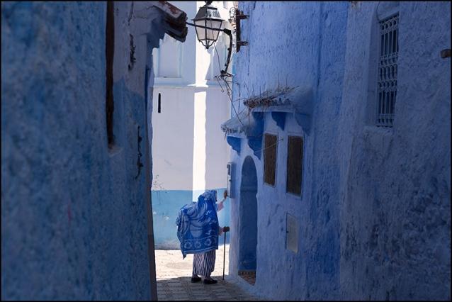 Blue. Chefchaouen