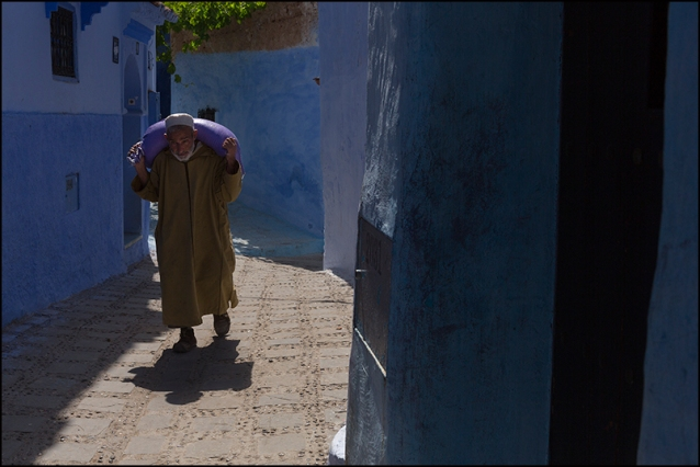 Heavy Load. Chefchaouen