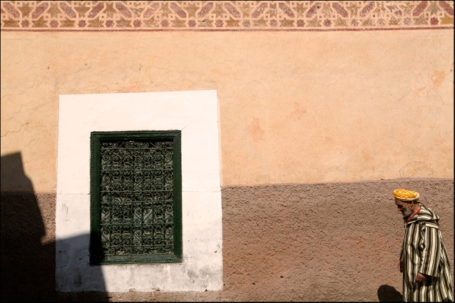 In a street of marrakesh