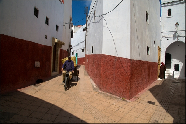 In a street of Rabat. Morocco