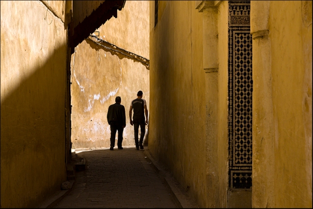 In a street of Fez. Morocco
