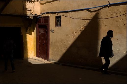 Shadows of Fez. Morocco