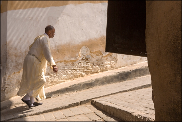 Coming back from the mosque on a friday. fez