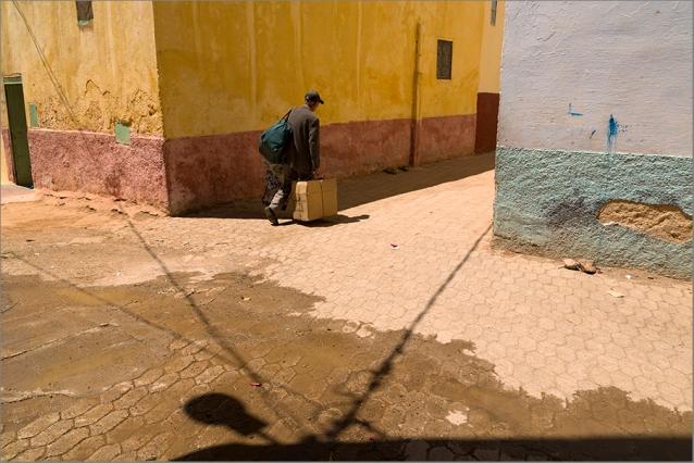 A street corner in Balhil.